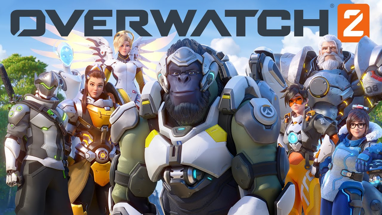 Overwatch 2 promotional image featuring new character designs