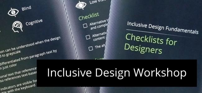 Inclusive Design Workshop